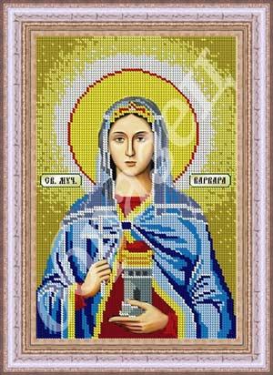 Схема вышивки крестом именной иконы