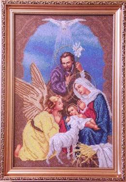 Схема вышивки крестом рождества христова